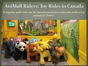 AniMall Riders - AniMal Plush Rides at Surrey Canada