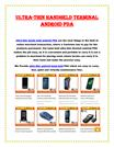 Ultra thin hand held andriod pda from issyzonepos