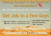 Resume Distribution Services to Thousands of Companies