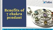 Benefits of 7 chakra pendant | Chakra Metal Pendants