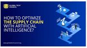 HOW TO OPTIMIZE THE SUPPLY CHAIN WITH AI_