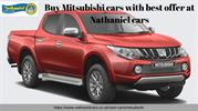 Buy Mitsubishi cars with best offers at Nathaniel cars