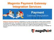 Magento Payment Gateway Integration
