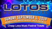 Lotos Music Festival Tickets from Tickets4Festivals