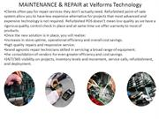 MAINTENANCE & REPAIR Service at Velforms Technology
