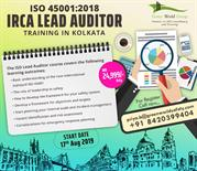 ISO 450012018 IRCA Lead Auditor Course Training in Kolkata