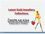 Latest Gold Jewellery Collections, Buy Designer Gold Jewellery