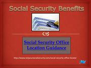 Make Your Future Secure |Social Security Office Locations
