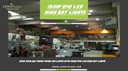 Now Replace those 400w MH Lights with 150w UFO LED High Bay Lights