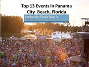 Top 13 Events in Panama City  Beach, Florida