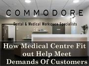 How Medical Centre Fit out Help Meet Demands Of Customers