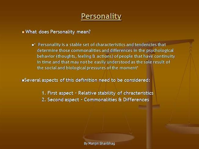 Ppt chapter 14: theories of personality powerpoint presentation.