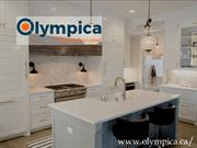 Olympica: Modern Kitchen Cabinets - Kitchen Cabinets Vancouver