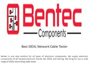 Best IDEAL Network Cable Tester Singapore
