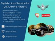 Stylish Limo Service for LaGuardia Airport