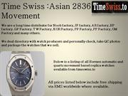 Time Swiss Asian 2836 Movement