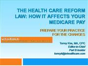 Health Care Reform Law