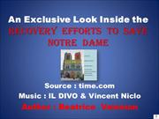 An Exclusive Look Inside...Notre Dame