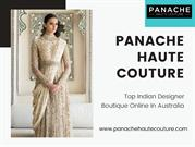 Buy Latest Indo Western Dresses Online At Panache Haute Couture