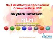No1 MLM Software development company in Delhi NCR