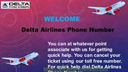 Know About Flights Booking Deals On Delta Airlines Phone Number