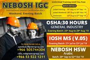 Nebosh course in Saudi Arabia