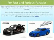 For Fast And Furious Diecast Cars