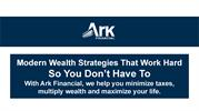 Strategic Financial Services - Ark Financial