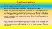 Brilliant Ways to Use legal investigations