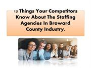 15 Things Your Competitors Know About The