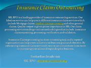 Insurance Claims Outsourcing