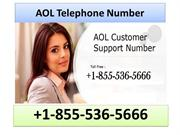 1-855-536-5666 AOL Telephone Number