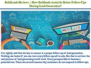 BoldLeads Reviews - How Boldleads Assist In Better Follow-Ups During L