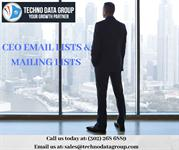 CEO EMAIL LISTS & MAILING LISTS