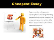 Professional PowerPoint Presentation Services - Cheapest Essay