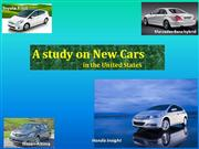 A study on New Cars