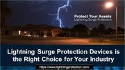 Lightning Surge Protection Devices Is The Right Choice For Your Indust