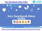 How to buy real facebook likes in india
