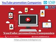 Which one of the leading YouTube promotion Companies