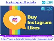Buy Real instagram likes india