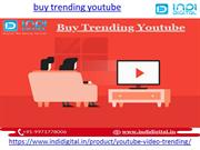 How to buy trending youtube services in India