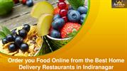 Order you Food Online from the Best Home Delivery Restaurants in Indir