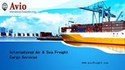 International Air & Sea Freight Cargo Services