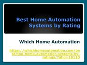 Home Automation Systems by Rating | Best Home Automation of 2019