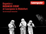 Organize a business event at Lasergame in Middelfart