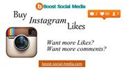 Buy Instagram real followers  - boost-social-media