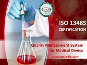Quality Management Systems for the Medical Device Industry