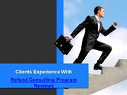 Refund Consulting Program Reviews  | Clients Journey