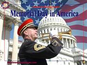PEN 2944 Memorial Day in America