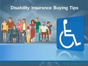 Disability Insurance Buying Tips